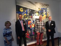 Rumpke Recycling featured in art exhibit at the Weston Art Gallery