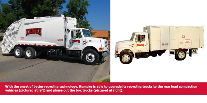 recycling truck graphic
